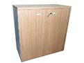QF-Low Cabinet Walnut Finish